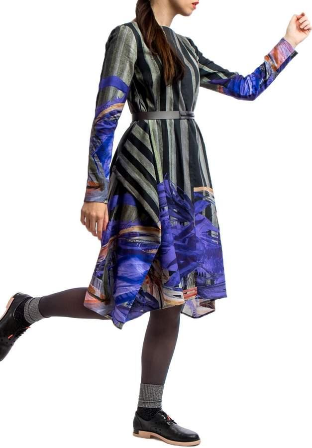 Clara Kaesdorf Adjustable Dress Printed