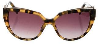 Balmain Tortoiseshell Cat-Eye Sunglasses