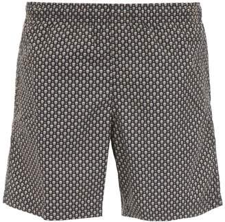 Alexander McQueen Nylon Skull Swim Shorts