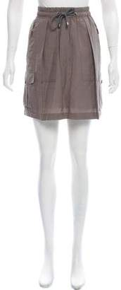 Brunello Cucinelli Mini Cargo Skirt