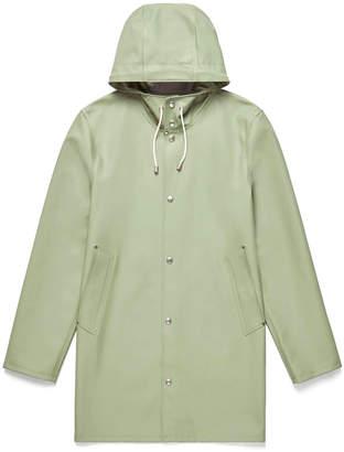 Stutterheim Desert Green Stockholm Raincoat - M - Green