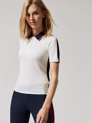 G/Fore TWO TONE SWEATER POLO