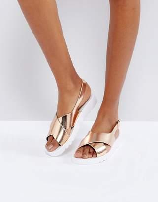 Asos Freda Jelly Flat Sandals