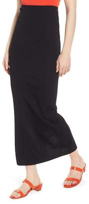 Lewit Compact Knit Maxi Skirt
