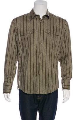 John Varvatos Western Button-Up Shirt