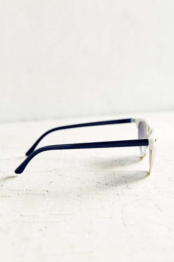 Urban Outfitters Skylar Half-Frame Sunglasses - ShopStyle ...