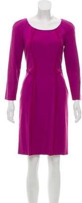 Philosophy di Alberta Ferretti Long Sleeve Knee-Length Dress
