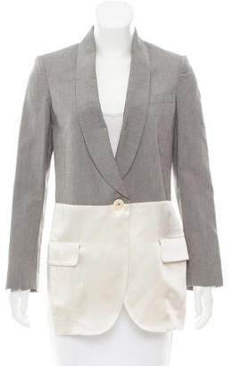 Paul Smith Shawl Lapel Contrast-Trimmed Blazer