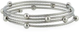 Alor Cable Coil Wrap Bracelet