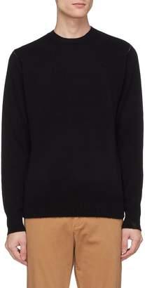 Rag & Bone 'Haldon' contrast topstitching cashmere sweater