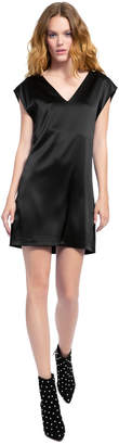 Alice + Olivia Carita Tie Back Mini Dress