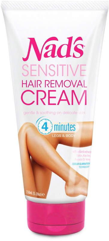 Nads Natural Sensitive Hair Removal Cream