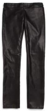 Blank NYC Girl's Faux Leather Leggings
