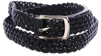 Proenza Schouler Woven Leather Belt