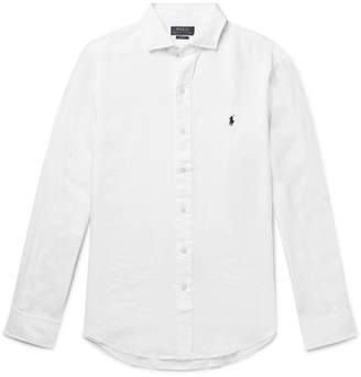 Polo Ralph Lauren Slim-fit Linen Shirt - White