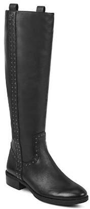 Sam Edelman Women's Prina Round Toe Tall Leather Boots