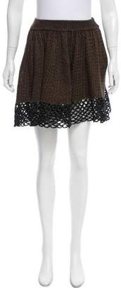 Opening Ceremony Flared Mini Skirt