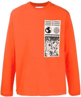 Ambush printed label sweater