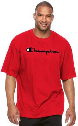 Champion Big & Tall Modern-Fit Logo Tee