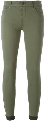 Twin-Set stretch skinny trousers $148.22 thestylecure.com