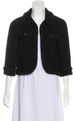 Chanel Chain-Link Wool Jacket w/ Tags