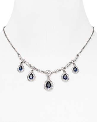 Carolee Front Pear Drop Necklace, 16""