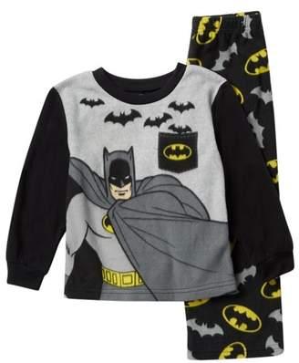 AME Batman Fleece Pajama Set (Toddler Boys)