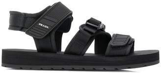 294ed4d2a9c3 Prada touch strap sandals