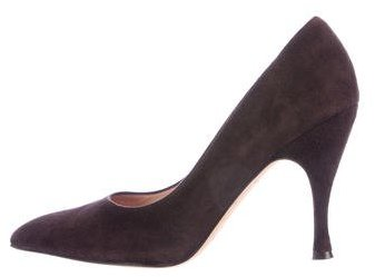 Kate Spade Kate Spade New York Suede Pointed-Toe Pumps