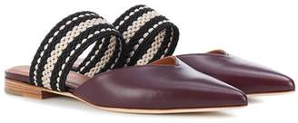Malone Souliers X Roksanda Hannah leather slippers