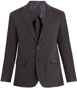 Polo Ralph Lauren Notch-lapel cotton-blend jacket