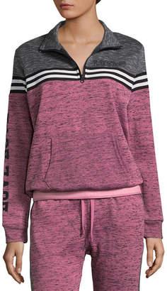 Flirtitude Fleece Half Zip Sweatshirt - Juniors