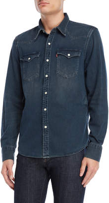 Levi's Barstow Dark Wash Denim Shirt
