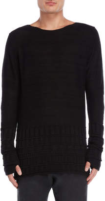 Masnada Textured Knit Pullover