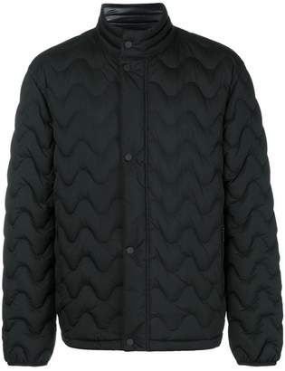 Ermenegildo Zegna squiggly padded jacket