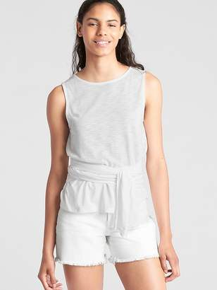 Gap Sleeveless Tie-Waist Top