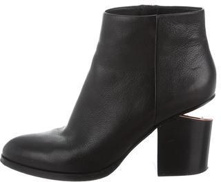 Alexander WangAlexander Wang Gabi Leather Ankle Boots
