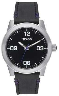 Nixon Women's G.I. Leather Watch, 36mm