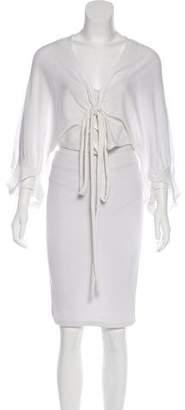 Stella McCartney Long Sleeve Crop Cardigan w/ Tags
