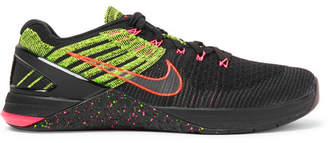 Nike Training Metcon Dsx Flyknit And Rubber Sneakers