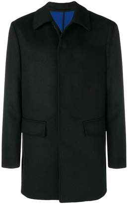 Paolo Pecora single-breasted fitted coat