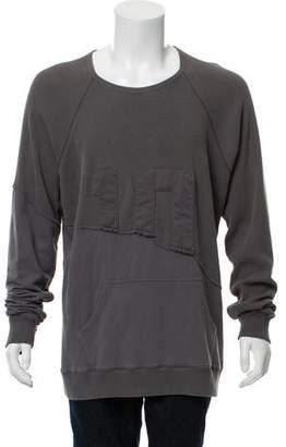 Greg Lauren Waffle Fleece Sweatshirt w/ Tags