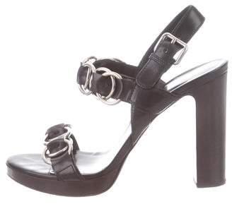 eeb9d3bba0f Miu Miu Ankle Strap Women s Sandals - ShopStyle