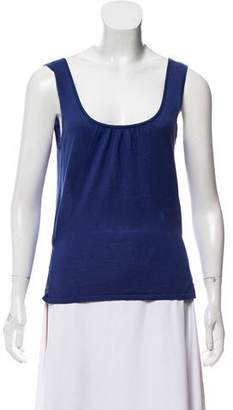Magaschoni Silk Sleeveless Top