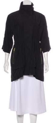 Ali Ro Lightweight Knee-Length Coat