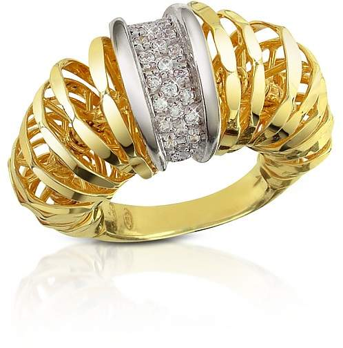 Orlando Orlandini Galaxy - Diamond 18K Gold Ring