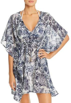 Echo Floral Silky Butterfly Cover-Up