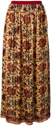 Mes Demoiselles floral print maxi skirt