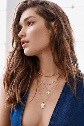 Urban Outfitters Billie Hammered Tag Necklace