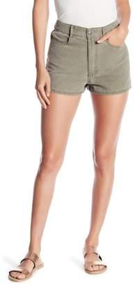 Honeybelle Honey Belle High Waist Mineral Wash Denim Shorts